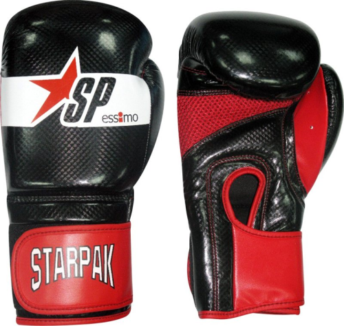 Aero Tech black boxing gloves
