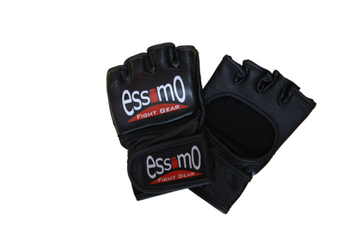 Leren MMA Gloves black